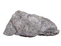 Естественный образец минерала †графита «мягко от класса родных элементов, изменения углерода на белой предпосылке Стоковая Фотография