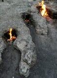 Естественный огонь Турция стоковое изображение rf
