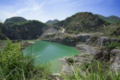 Естественный парк шахты Стоковые Фотографии RF