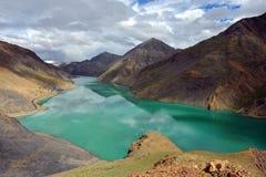 естественный пейзаж Тибет Стоковые Фото