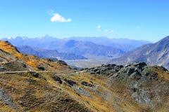 естественный пейзаж Тибет Стоковое фото RF