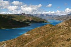 естественный пейзаж Тибет Стоковое Изображение