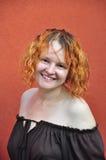 Естественный портрет женщины среднего возраста Стоковые Фото