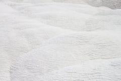 Естественный травертин на Pamukkale Стоковые Изображения