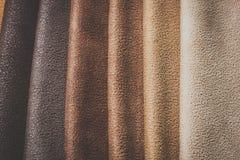 Естественный variegated крупный план предпосылки замши Стоковые Фото