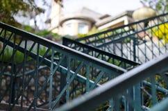 лестница вверх по путю Стоковое Изображение