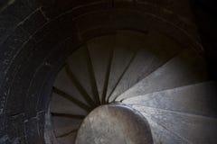 лестница случая спиральн Стоковые Изображения RF