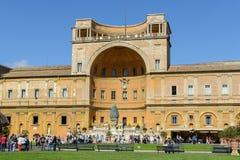 лестница vatican rome музея Италии двойного helix Стоковые Изображения