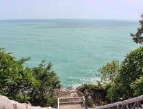 лестницы моря к Стоковые Изображения RF