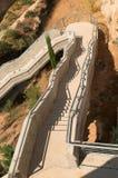 лестницы полета напольные Стоковое фото RF