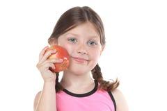 ест девушку здоровую Стоковые Изображения