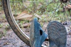 детализированные велосипедом изолированные колеса кораблей серии белые Стоковые Изображения