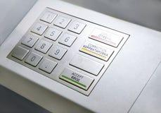 деталь легко etc конца клиппирования atm включила шлиц экрана путя машины клавиш на клавиатуре изолята вверх Клавиатура Стоковое Фото
