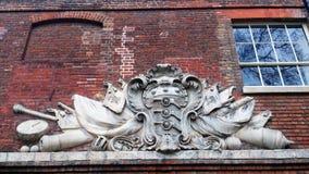 деталь здания старая Стоковые Фото