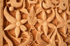 деталь alhambra Стоковые Фото