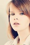 15 детенышей женщины портрет способа Стоковое Фото