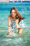 15 детенышей женщины Стоковое фото RF