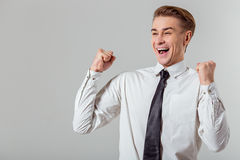 детеныши бизнесмена успешные Стоковое фото RF