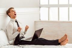 детеныши бизнесмена успешные Стоковое Фото