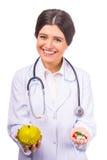 детеныши женщины доктора Стоковое Изображение RF
