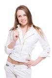 детеныши женщины портрета ся Стоковая Фотография RF