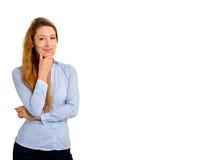 детеныши женщины портрета ся Стоковое Изображение