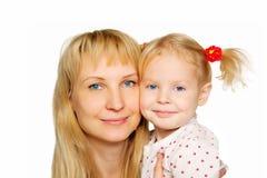 детеныши каникулы портрета мати дочи счастливые стоковые фото