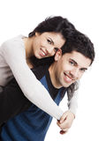 детеныши пар счастливые Стоковые Фотографии RF
