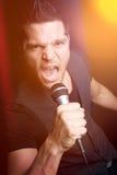 детеныши петь человека Стоковые Фото