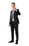 детеныши портрета бизнесмена полнометражные Стоковые Фото