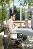 детеныши портрета предпосылки изолированные бизнесменом белые Стоковая Фотография RF