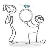 детеныши предложения портрета замужества пар иллюстрация вектора