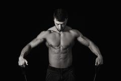 детеныши человека мышечные Стоковая Фотография