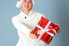 детеныши человека подарка коробки Стоковая Фотография RF