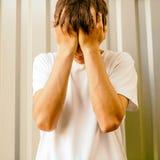 детеныши человека унылые Стоковое фото RF