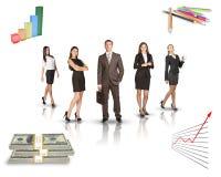 детеныши людей бизнес-группы Стоковое фото RF