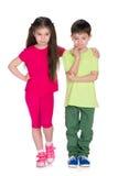 дети заботливые Стоковые Фотографии RF