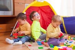дети играя совместно Стоковая Фотография RF