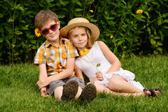 дети симпатичные Стоковое фото RF