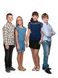 дети 4 счастливые Стоковые Изображения RF