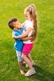 дети счастливые 2 Стоковое фото RF