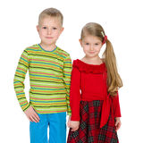дети счастливые 2 Стоковое Изображение