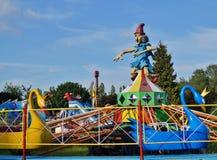 дети s carousel Стоковая Фотография