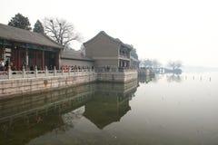 летний дворец фарфора Пекина Стоковая Фотография
