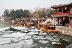 летний дворец фарфора Пекина Стоковые Фотографии RF