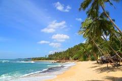 лето ландшафта назначения пляжа красивейшее тропическое стоковое изображение