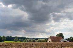 лето ландшафта сельское Стоковые Изображения