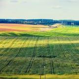 лето ландшафта сельское Стоковая Фотография