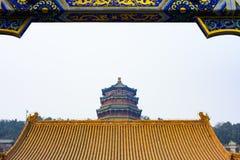 лето дворца Пекин Стоковое Изображение
