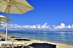 лето горы взгляда Греции святейшее Стоковое Изображение